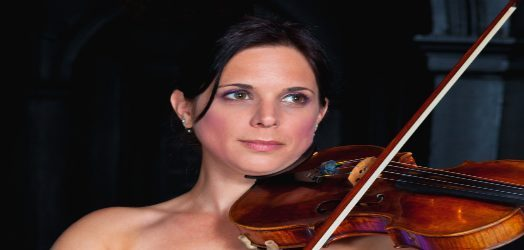 Eloise Prouse, a skilled violinist performing at wedding across the Midlands
