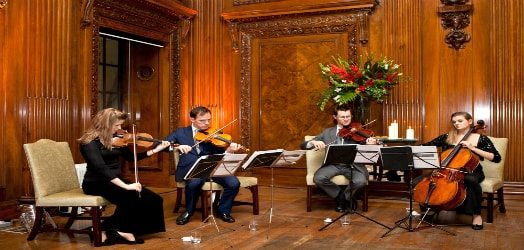 Professional string musicians for weddings across the midlands