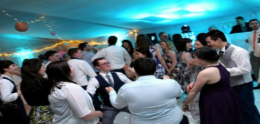 Experienced wedding dj based in Leicester